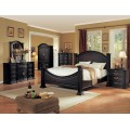 Grace Bedroom Set Espresso Finish