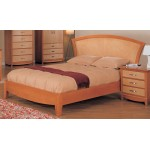 Julie Bedroom Set Maple / Light Cherry Finish