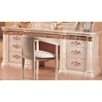 Lucy Bedroom Set Beige Marble