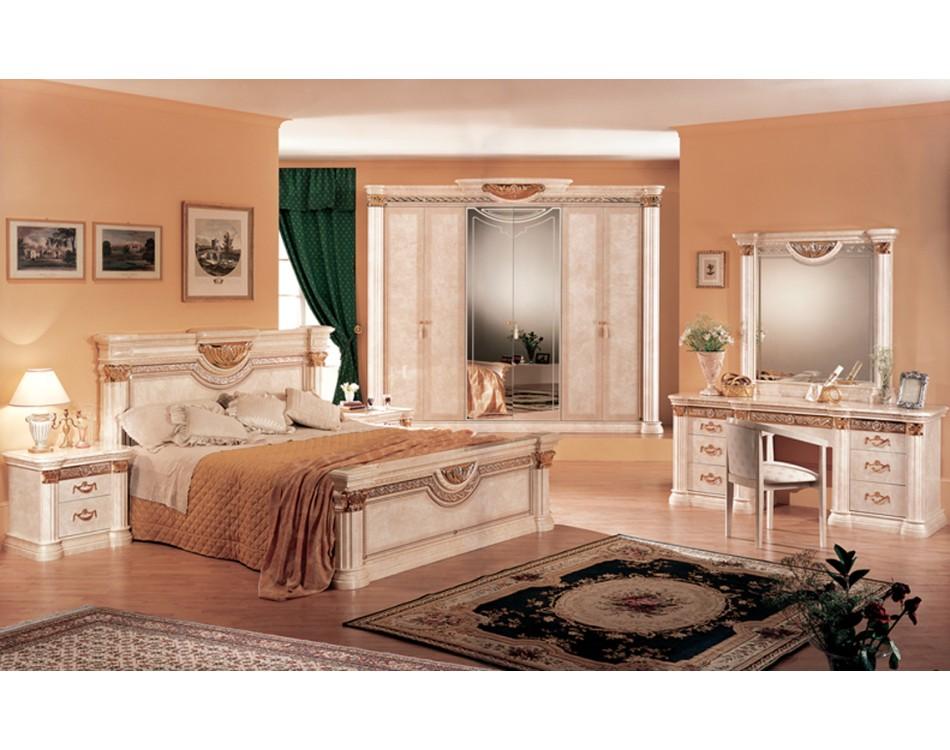 lucy bedroom set beige marble