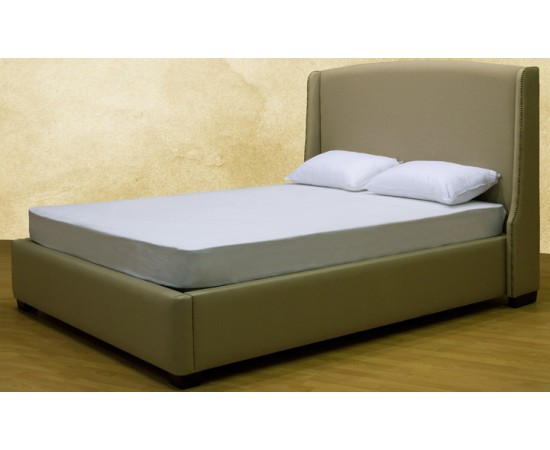 Nancy Upholstered Nail Head Bed