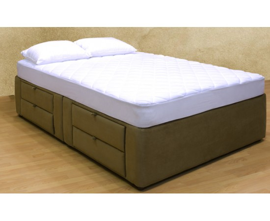 Tiffany 8-drawer Platform Bed/ Storage Mattress Box