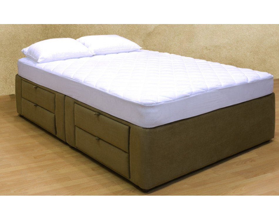 Tiffany 8 drawer platform bed storage mattress box Bed with mattress