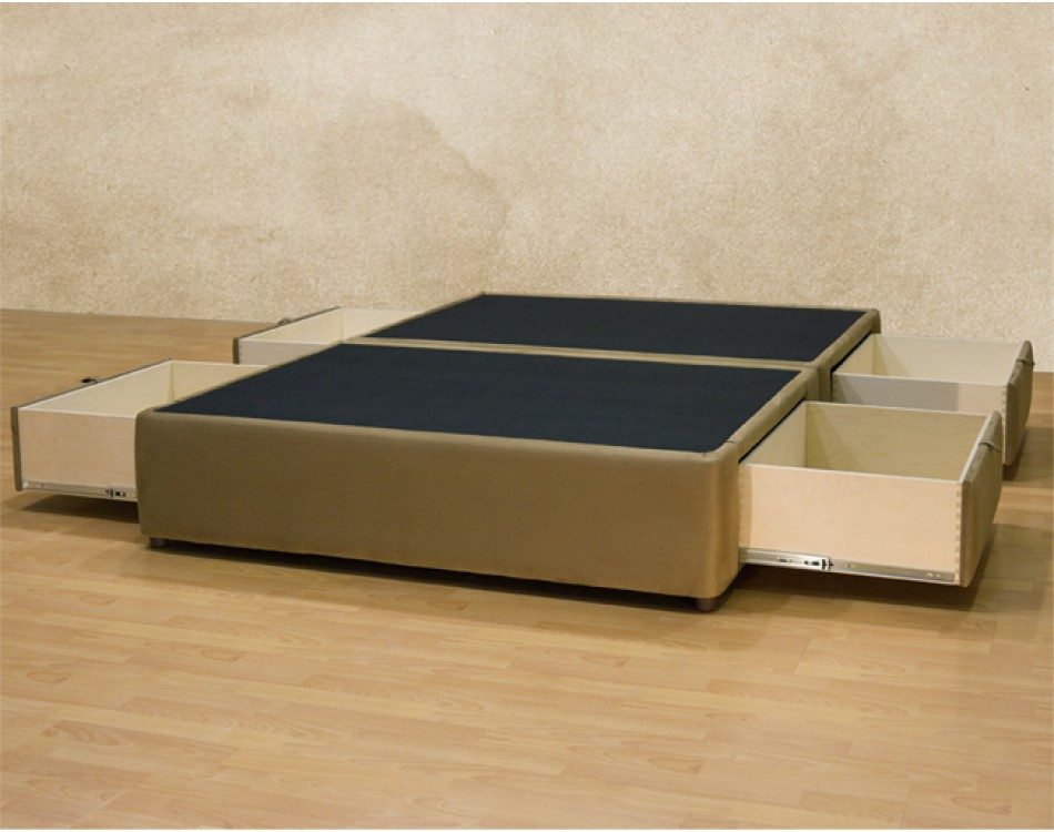 Tiffany 4-drawer Platform Bed/ Storage Mattress Box