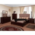 Meridian Upholstery Bedroom Set