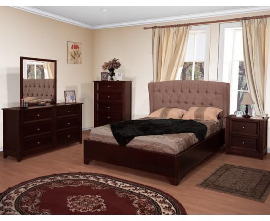 Meridian Upholstery Bedroom Set